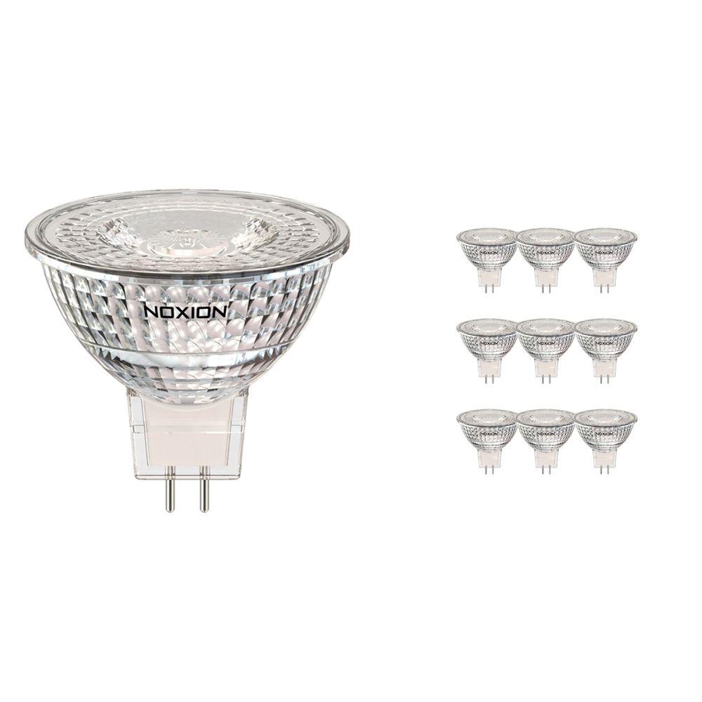Multipack 10x Noxion LED Spot GU5.3 3.2W 827 36D 270lm | Extra Warm White - Replaces 20W