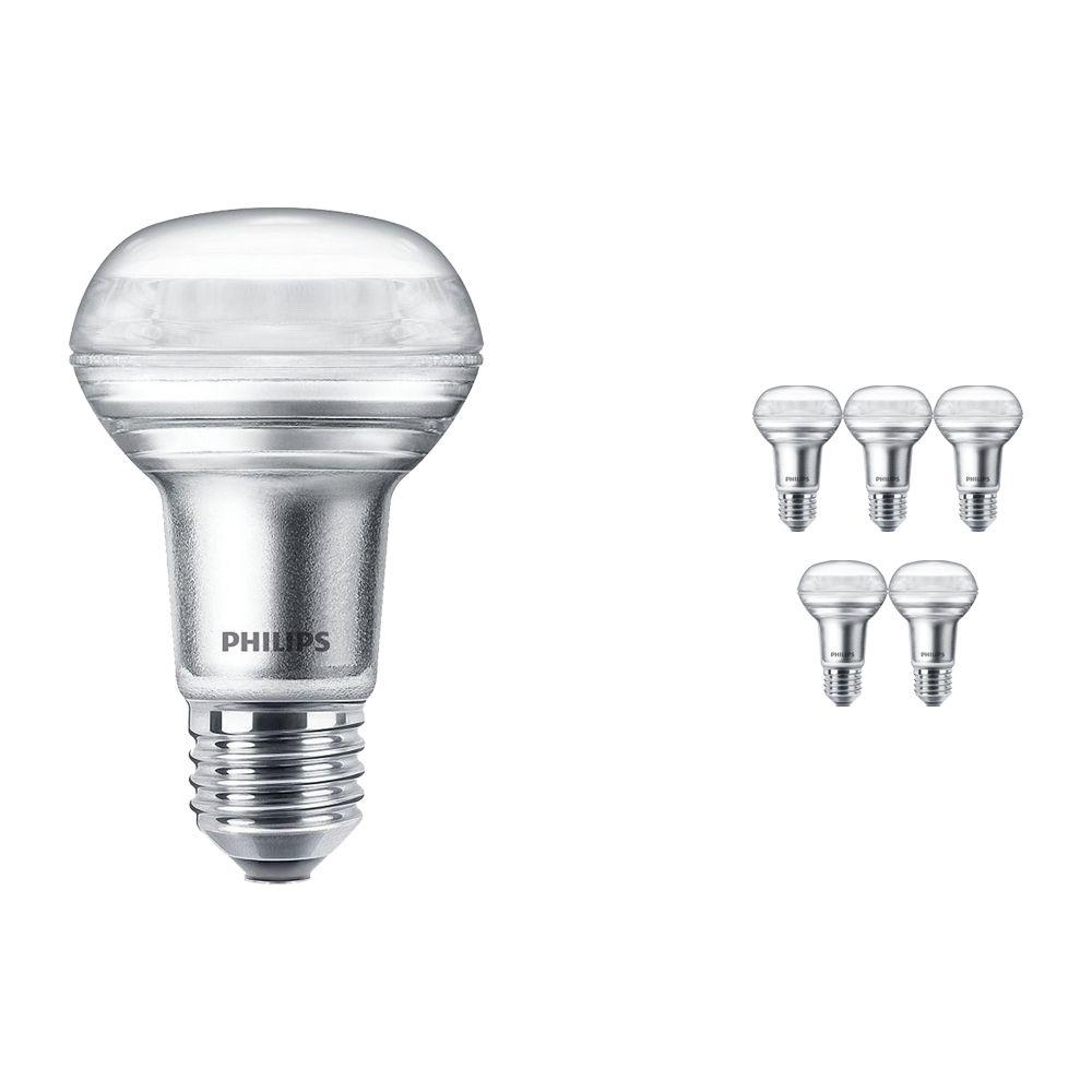 Multipack 6x Philips CorePro LEDspot E27 Reflector R63 3W 827 36D | Extra Warm White - Replaces 40W