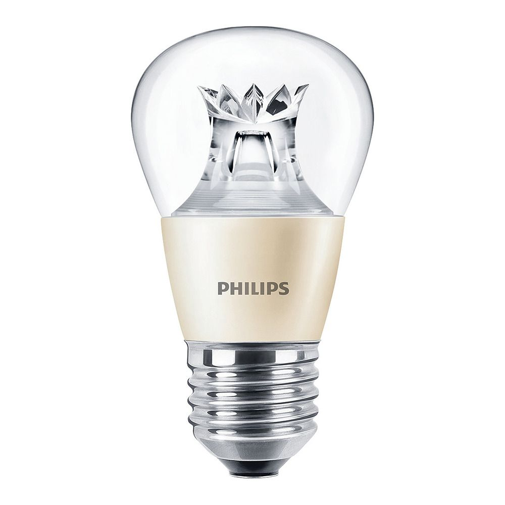 Philips LEDluster E27 P48 6W 827 Clear (MASTER) | DimTone Dimmable - Replaces 40W