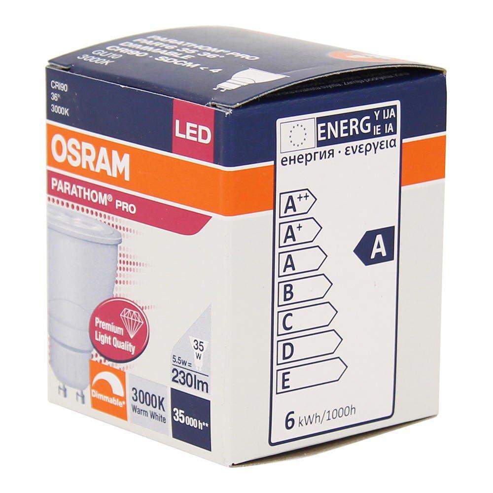 osram parathom pro par16 adv 5 5 35w 930 36d gu10 any lamp. Black Bedroom Furniture Sets. Home Design Ideas