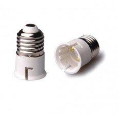 Adapter for lampholders Male E27 => Male B22