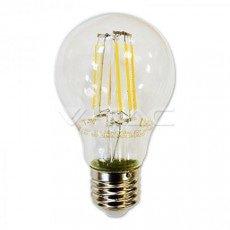 LED Filament Bulb E27 8W A67 Cool White