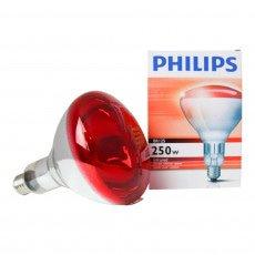 Philips BR125 IR 250W E27 230-250V Red
