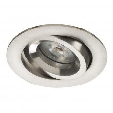 Downlight 51mm Nickel incl.18cm cable - Noxion Drome