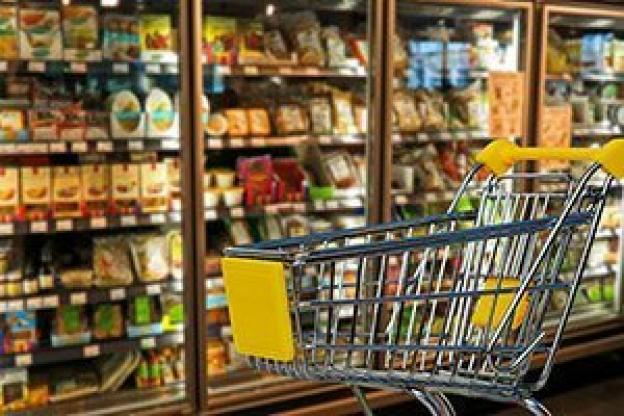 LED lights for retail: Supermarket