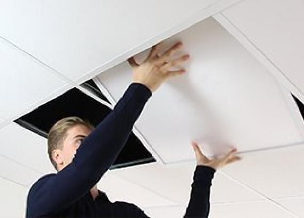 How do I install an LED panel?