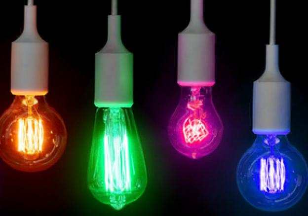 LED mood lights - coloured lamps for every occasion